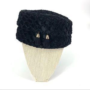 Vintage pill box hat